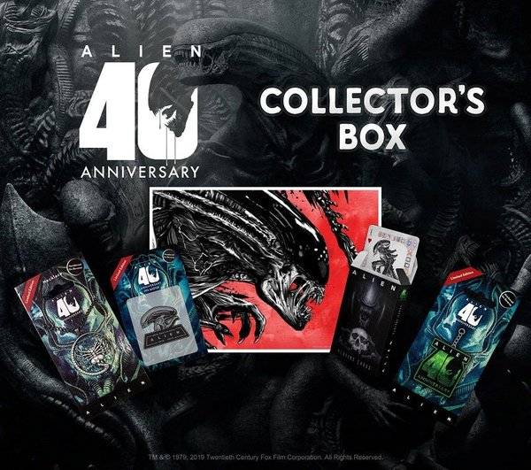 Alien 40th Aniversario Pack de Regalo Coleccionista