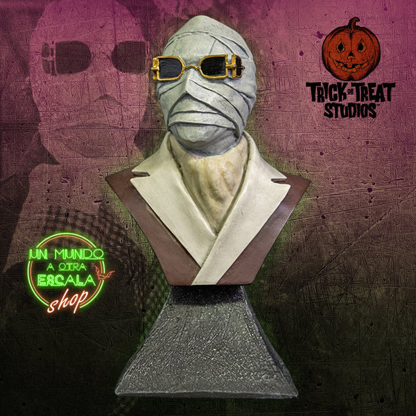 THE INVISIBLE MAN - MINI BUST Trick or Treat Studios