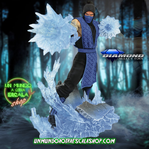 MORTAL KOMBAT Sub-zero Diamond Select Gallery