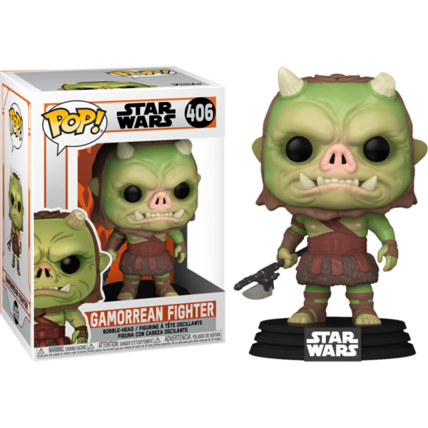 FUNKO POP! Star Wars: The Mandalorian  Gamorrean Fighter