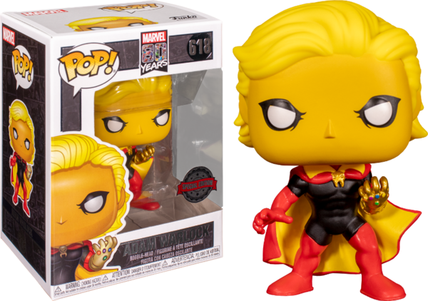 FUNKO POP! Marvel 80th POP! Marvel Vinyl Figura Adam Warlock Exclusive