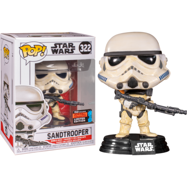 FUNKO POP! Sandtrooper NYCC Limited Edition