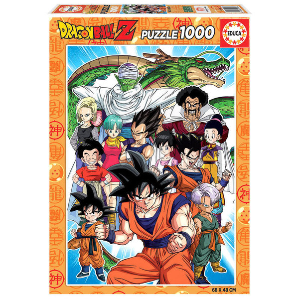 Puzzle Dragon Ball Z 1000pz