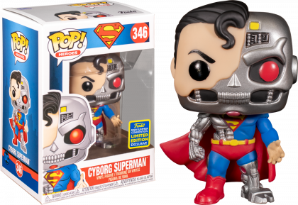 FUNKO POP! Cyborg Superman Summer Convention Exclusive 2020