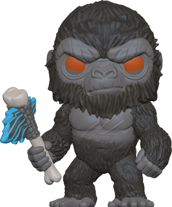 FUNKO POP! Godzilla Vs Kong Figura - King Kong with Axe