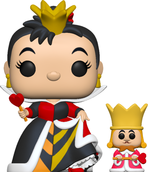FUNKO POP! Alicia en el País de las Maravillas Queen w/King