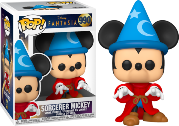 FUNKO POP! Fantasia Sorcerer Mickey 80th Anniversary