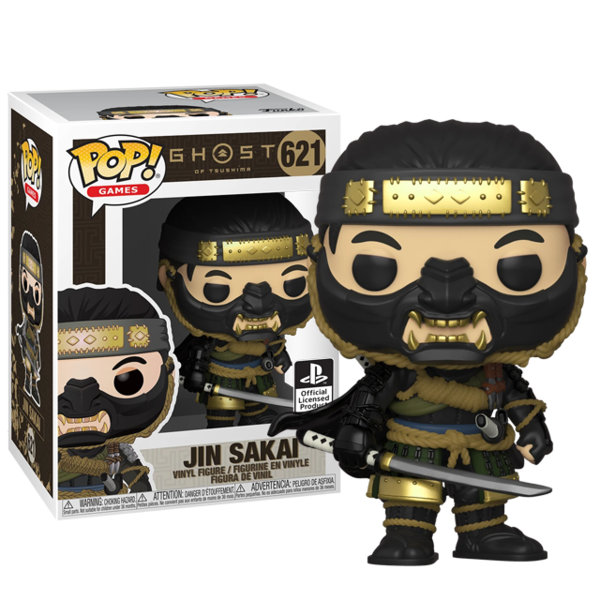 FUNKO POP! JIN SAKAI - GHOST OF TSUSHIMA